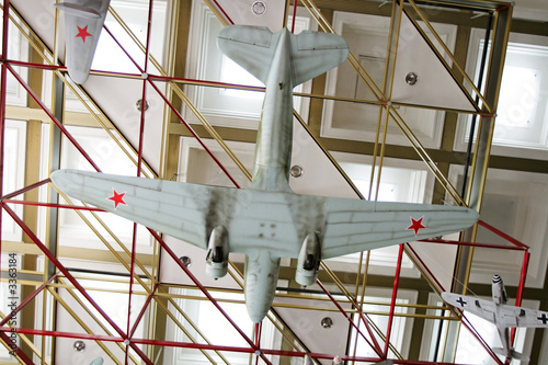 poster of aircraft in museum