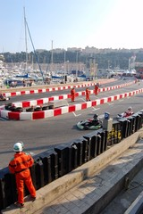 monaco karting training world championship