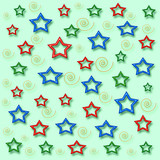 my stars gift wrap poster