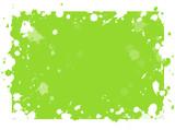 taches de peinture vert