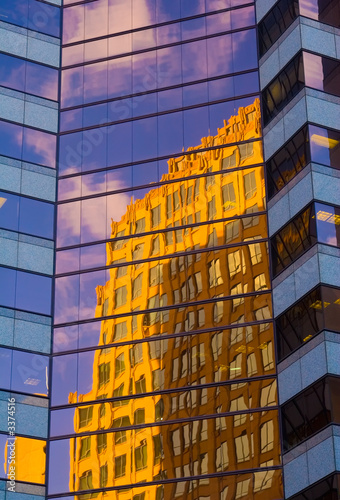 building reflection