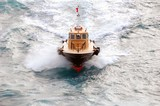 pilot boat on government cut poster