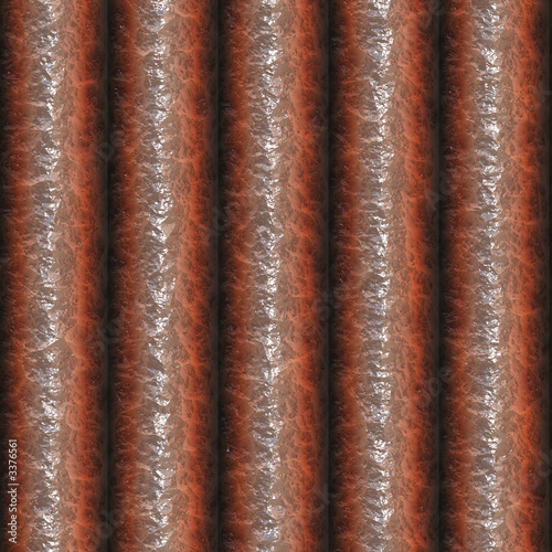 rendering of copper pipes