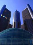 detroit skyscraper poster