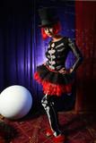 beautiful redhead performer poster