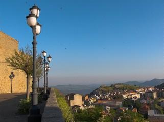 panoramica di cerami