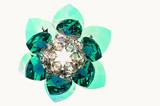crystal brooch poster