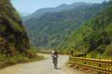 mountain bikers poster