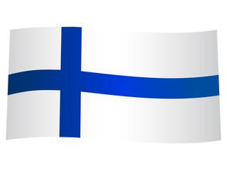 drapeau finlandais