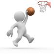 3d human basketball