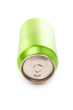 green blank soda can poster