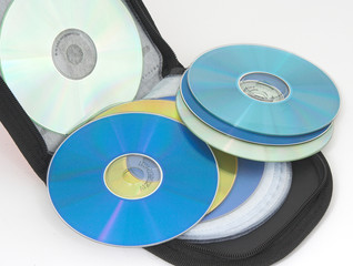 bolsa para llevar cd
