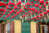 lanternes lotus en corée poster