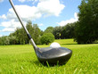 golf drive vers le green