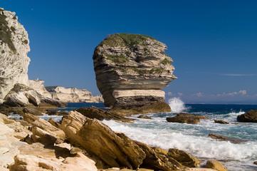 cliffs in the bonifacio