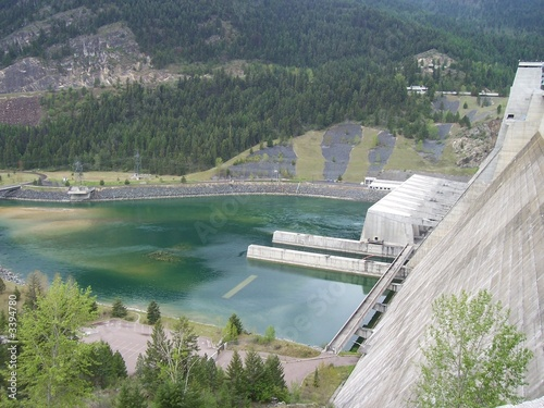 Aluminium Dam libby dam