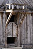 inn entrance-rustic poster