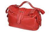 red female handbag poster