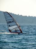 speedy windsurfer poster