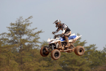 all terrain vehicle jumping