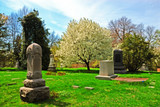 historic spring grove cemetery in cincinnati ohio poster