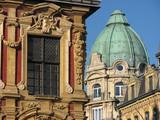 lille - façade vieille bourse poster