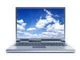 Fototapety laptop computer