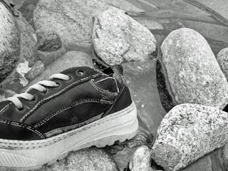 chaussure abandonnée