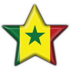 bottone stella senegal star button flag