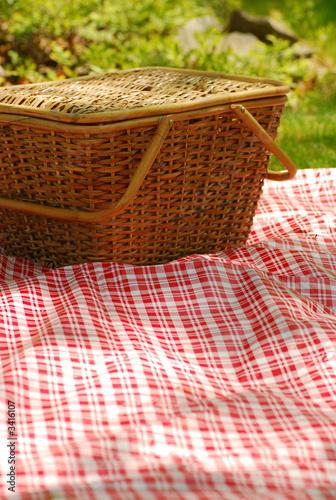 Foto op Canvas Picknick backyard picnic