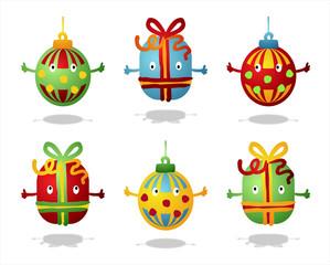 cadeaux et boules de noël