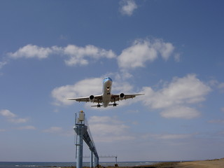 short final lanzarote