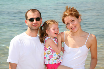 family and sea