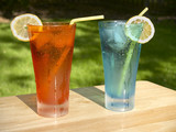 outdoor beverages poster