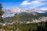 alpine landscape in the high sierra poster