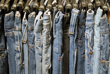 used denim rack