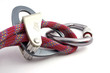 carabiner, rope and belay devices