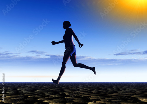 female runner 18