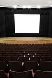empty cinema screen poster