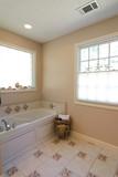 simple elegant bathroom poster