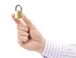 lock in hand