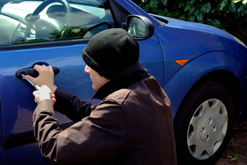 car robbing