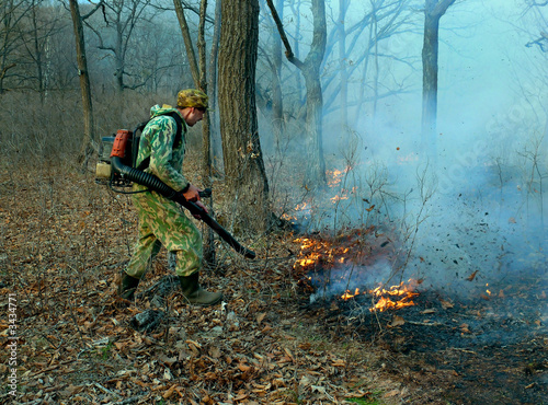 suppression of forest fire 2