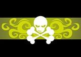 skull totenkopf pirat poster