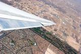 aerial view of las vegas poster