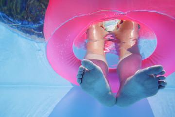 pies subacuaticos