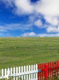 landscape contrasts poster