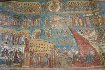 malerei am kloster moldovita