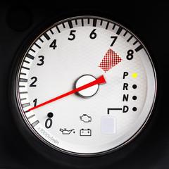 sport car tachometer