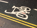 cycle lane poster
